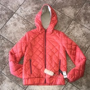 Hydraulic Quilted Coat Size M